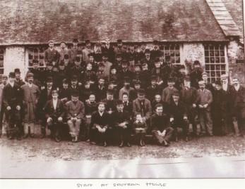 Saltram House Employees cir 1900