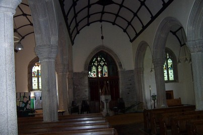 St. Michaels interior